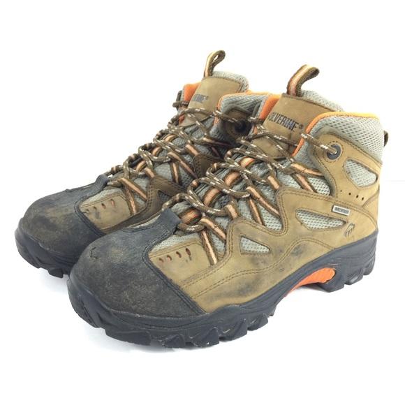 15c45a2d871 Wolverine Mens 8 M Waterproof Steel Toe Work Boots